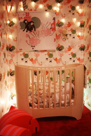 CLICK ON TITLE FOR MORE IMAGES Baby nest made for the TV-show Äntligen Hemma in 2007.