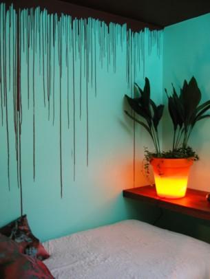 Bedroom for Äntligen Hemma TV4, 2005