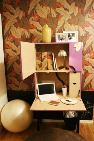CLICK FOR MORE IMAGES Customized working closet fro the TV-show Äntligen Hemma in 2007