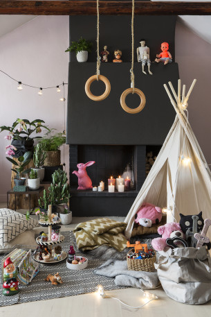 For Granit we also did this cozy corner - check out all the images by clicking on the title!